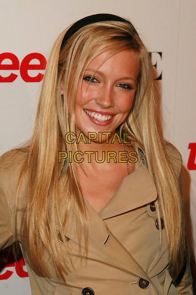 KATIE CASSIDY.Teen Vogue Young Hollywood Issue Party held at Sunset Tower Hotel, West Hollywood, California, USA..September 20th, 2006.Ref: ADM/CH.headshot portrait alice band.www.capitalpictures.com.sales@capitalpictures.com.©AdMedia/Capital Pictures.