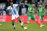 CD Leganes' Allan Romero Nyom (L)  and Deportivo Alaves' Jony Rodriguez  during La Liga match. November 23,2018. (ALTERPHOTOS/Alconada) /NortePhoto.com
