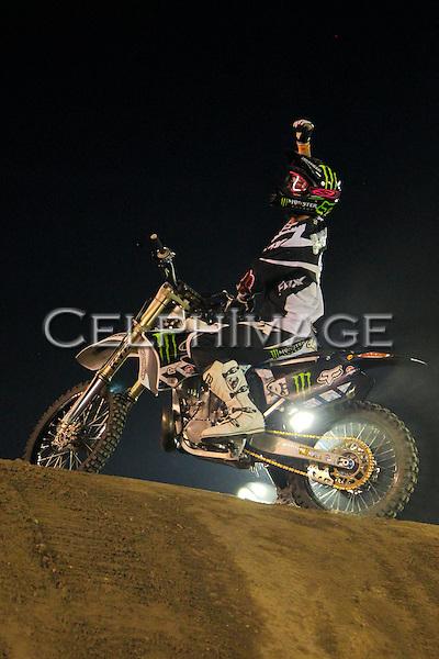 ADAM JONES.ASA FMX World Championships Finals at the Pomona Fairplex. Pomona, CA, USA. September 4, 2010. ©CelphImage