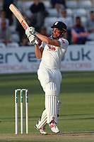 Alastair Cook hits four runs for Essex during Essex CCC vs Middlesex CCC, Specsavers County Championship Division 1 Cricket at The Cloudfm County Ground on 26th June 2017