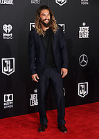 13 November  2017 - Hollywood, California - Jason Momoa. &quot;Justice League&quot; Los Angeles Premiere held at The Dolby Theater in Hollywood. <br /> CAP/ADM/BT<br /> &copy;BT/ADM/Capital Pictures