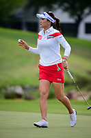 So Yeon Ryu (KOR) after sinking her putt on 8 during round 2 of  the Volunteers of America Texas Shootout Presented by JTBC, at the Las Colinas Country Club in Irving, Texas, USA. 4/28/2017.<br /> Picture: Golffile | Ken Murray<br /> <br /> <br /> All photo usage must carry mandatory copyright credit (&copy; Golffile | Ken Murray)