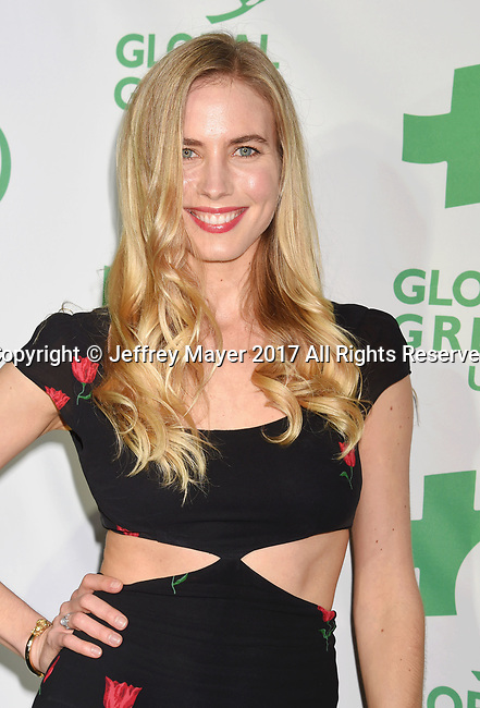 LOS ANGELES, CA - FEBRUARY 22: Actress-model-dancer Priscilla Monnier arrives at the 14th Annual Global Green Pre-Oscar Gala at TAO Hollywood on February 22, 2017 in Los Angeles, California.