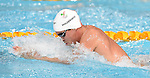 Wales' Rob Holderness competes in the Men's 100m Breaststroke - Heat 5<br /> <br /> Photographer Chris Vaughan/Sportingwales<br /> <br /> 20th Commonwealth Games - Day 2 - Friday 25th July 2014 - Swimming - Tollcross International Swimming Centre - Glasgow - UK