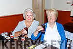 Eileen McGillicuddy and Madge Gill at the bingo in aid of the Killorglin Community Alert in the Manor Inn on Friday night