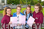 KIllarney Presentation girls Cammy Kelliher, Amy and Leah O'Shea and Zoe O'Sullivan were happy with the English paper on Wednesday