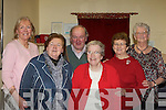 Mary Fitzgerald Sean Chairde, Mary O'Connor, Terence Ferguson, Pauline Fleming, Kathleen O'Leary and Bride Carroll enjoying the Castlemaine Sean Chairde tea dance in Castlemaine Community hall on Sunday