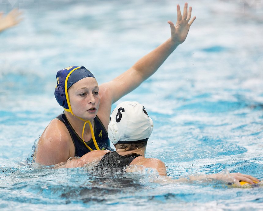 The University of Michigan women's water polo team beat Gannon, 17-2, at Canham Natatorium in Ann Arbor, Mich., on March15, 2013.