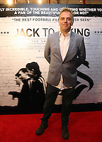 """Pictured: Film director Marc Evans. Sunday 14 September 2014<br /> Re: Film premiere of """"Jack To A King"""" depicting the recent history pf Swansea City Football Club, at the Odeon Cinema, Swansea, south Wales, UK."""