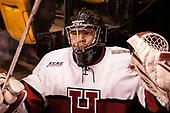 Sihak Lee (Harvard - 1) - The Harvard University Crimson defeated the Northeastern University Huskies 4-3 in the opening game of the 2017 Beanpot on Monday, February 6, 2017, at TD Garden in Boston, Massachusetts.