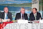 AIRPORT: At the AGM of Kerry Airport at the Earl of Desmond Hotel on Monday last were, l-r: John O'Sullivan (Company Secretary), Denis Cregan (Chairman) and Peter Moore (Airport Manager).   Copyright Kerry's Eye 2008