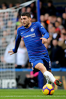 Mateo Kovacic of Chelsea in action during Chelsea vs Fulham, Premier League Football at Stamford Bridge on 2nd December 2018