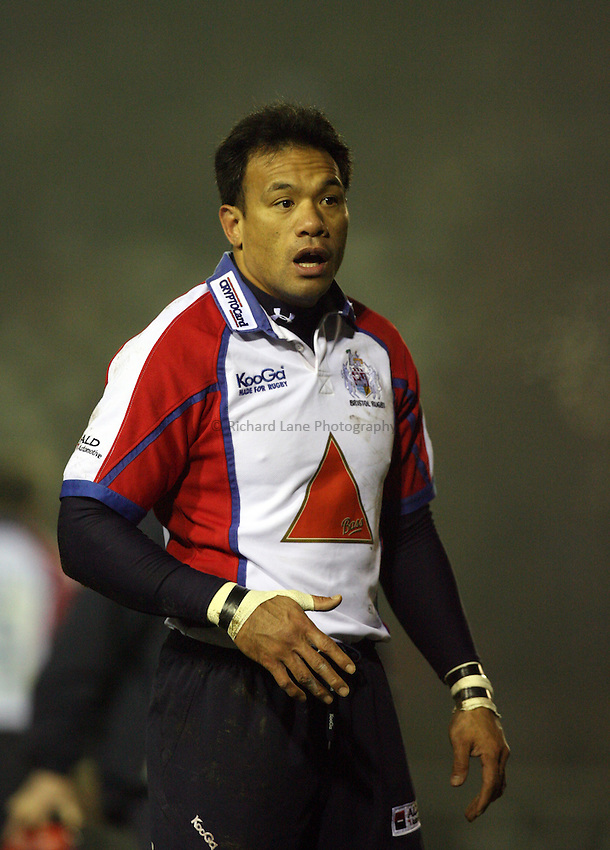 Photo: Rich Eaton...Leicester Tigers v Bristol Rugby. Guinness Premiership. 22/12/2006. Brian Lima of Bristol