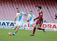 Marek Hamsik  during the  italian serie a soccer match,between SSC Napoli and Torino       at  the San  Paolo   stadium in Naples  Italy , December 18, 2016