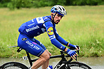 Julian Alaphilippe (FRA) Deceuninck-Quick Step in the breakaway during Stage 6 of the Criterium du Dauphine 2019, running 229km from Saint-Vulbas - Plaine de l'Ain to Saint-Michel-de-Maurienne, France. 14th June 2019.<br /> Picture: ASO/Alex Broadway | Cyclefile<br /> All photos usage must carry mandatory copyright credit (© Cyclefile | ASO/Alex Broadway)