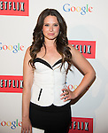 WASHINGTON, DC - MAY 2: Katie Lowes attending the Google and Netflix party to celebrate White House Correspondents' Dinner on May 2, 2014 in Washington, DC. Photo Credit: Morris Melvin / Retna Ltd.