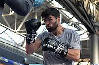 John Ryder during a Public Workout at Old Spitalfields Market on 24th October 2018
