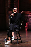 """Sabrina Imamura attends the cast Q & A during The Rockefeller Foundation and The Gilder Lehrman Institute of American History sponsored High School student #EduHam matinee performance of """"Hamilton"""" at the Richard Rodgers Theatre on October 24, 2018 in New York City."""