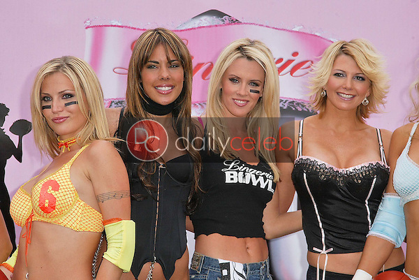 Willa Ford, Tamie Sheffield, Amber Smith and Adrienne Curry<br /> Willa Ford, Ryan Starr, Jenny McCarthy and Tamie Sheffield