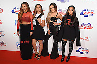 LONDON, UK. December 3, 2016: Jesy Nelson, Jade Thirlwell, Perrie Edwards &amp; Leigh Ann Pinnock (Little Mix) at the Jingle Bell Ball 2016 at the O2 Arena, Greenwich, London.<br /> Picture: Steve Vas/Featureflash/SilverHub 0208 004 5359/ 07711 972644 Editors@silverhubmedia.com