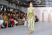 Catwalk<br /> at the Jasper Conran catwalk show as part of London Fashion Week SS17, Brewer Street Car Park, Soho London<br /> <br /> <br /> &copy;Ash Knotek  D3155  17/09/2016