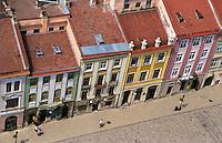 Aerial cityscape of Lviv, Ukraine