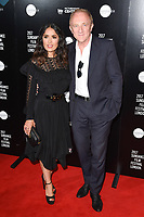 Salma Hayek &amp; Francois-Henri Pinault at the premiere of &quot;Beatriz at Dinner&quot; at the Sundance Film Festival London Opening Night at Picturehouse Central, London.<br /> 01 June  2017<br /> Picture: Steve Vas/Featureflash/SilverHub 0208 004 5359 sales@silverhubmedia.com