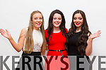 Solo singers taking part in Mounthawk's Got talent on Thursday night were Tracy O'Keeffe, Ciara Moriarty and Clodagh Harrington (who won first place in the competition)
