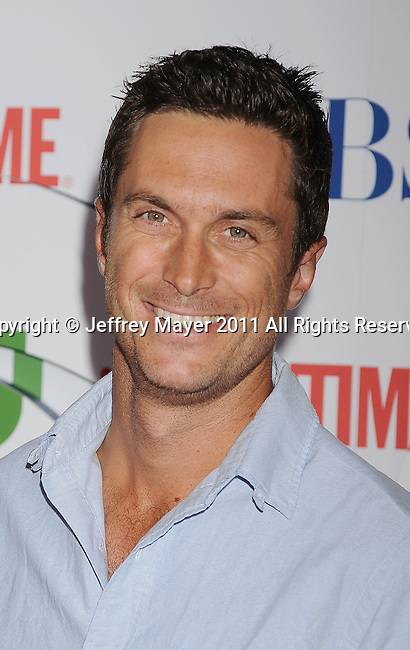 BEVERLY HILLS, CA - AUGUST 03: Oliver Hudson arrives at the TCA Party for CBS, The CW and Showtime held at The Pagoda on August 3, 2011 in Beverly Hills, California.