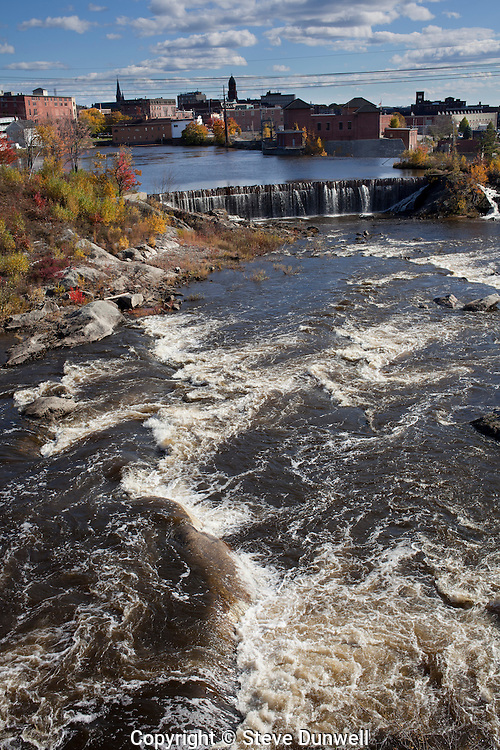 Great Falls of Androscoggin River, Lewiston, ME