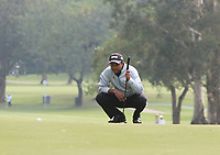 S.S.P. Chawrasia (IND) on the 4th green during Round 1 of the UBS Hong Kong Open, at Hong Kong golf club, Fanling, Hong Kong. 23/11/2017<br /> Picture: Golffile | Thos Caffrey<br /> <br /> <br /> All photo usage must carry mandatory copyright credit     (&copy; Golffile | Thos Caffrey)