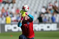Jordan Pickford of England before Slovakia Under-21 vs England Under-21, UEFA European Under-21 Championship Football at The Kolporter Arena on 19th June 2017