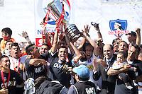Clausura 2014 Celebracion Colo Colo