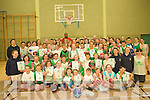 60 children enjoyed a week long Basketball camp in Causeway organised by Team Kerry basketball club.