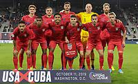 USMNT v Cuba, October 11, 2019