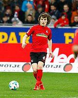Caglar SOEYUENCUE (SOEYUENCUE), SCF ,   , Fussball, 1. Bundesliga  2017/2018<br /> <br />  <br /> Football: Germany, 1. Bundesliga, SC Freiburg vs Bayer 04 Leverkusen, Freiburg, 03.02.2018 *** Local Caption *** © pixathlon<br /> Contact: +49-40-22 63 02 60 , info@pixathlon.de