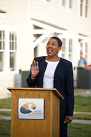Ribbon Cutting for East Church Townhomes. Norfolk, VA. Credit: Roberto Westbrook