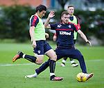 Joey Barton and Andy Halliday