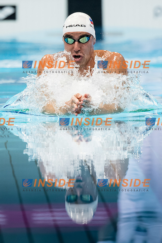 DUGONJIC Damir SLO<br /> 100 breststroke men<br /> London, Queen Elizabeth II Olympic Park Pool <br /> LEN 2016 European Aquatics Elite Championships <br /> Swimming day 02 finals<br /> Day 09 17-05-2016<br /> Photo Giorgio Scala/Deepbluemedia/Insidefoto