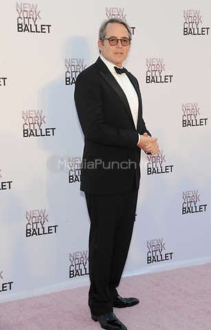 NEW YORK, NY - SEPTEMBER 28: Matthew Broderick attends the New York City Ballet's 2017 Fall Fashion gala at David H. Koch Theater at Lincoln Center on September 28, 2017 in New York City.  Photo Credit: John Palmer/MediaPunch