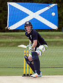 Cricket Scotland - Scotland train at Kent County cricket ground at Benkenham, ahead of two matches against Sri Lanka, on Sunday (tomorrow) and Tuesday - pic shows Michael - picture by Donald MacLeod - 20.05.2017 - 07702 319 738 - clanmacleod@btinternet.com - www.donald-macleod.com