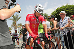 Nacer Bouhanni (FRA) Cofidis wins Stage 6 of the La Vuelta 2018, running 150.7km from Huércal-Overa to San Javier, Mar Menor, Sierra de la Alfaguara, Andalucia, Spain. 30th August 2018.<br /> Picture: Unipublic/Photogomezsport | Cyclefile<br /> <br /> <br /> All photos usage must carry mandatory copyright credit (© Cyclefile | Unipublic/Photogomezsport)