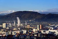 Blick vom Schlossberg, Graz, Steiermark, &Ouml;sterreich<br /> View from Schlossberg, Graz, Styria, Austria