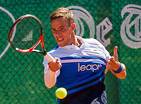 Zandvoort, Netherlands, 05 June, 2016, Tennis, Playoffs Competition, Scott Griekspoor (NED)<br /> Photo: Henk Koster/tennisimages.com