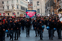 Rome March 8th 2019. Demonstration and strike for the International Women's day against violence against women.<br /> Foto Samantha Zucchi Insidefoto