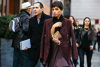 Deena Aljuhani Abdulaziz at Paris Fashion Week (Photo by Hunter Abrams/Guest of a Guest)