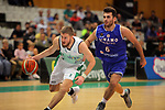 Basketball Champions League 2017/18 - Previus.<br /> Divina Seguros Joventut vs Dinamo Tbilisi: 86-66.<br /> Dominik Mavra vs Levani Grdzelidze.
