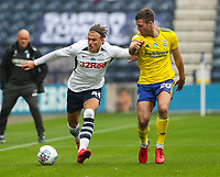 Preston North End's Brad Potts shields the ball from Birmingham City's Gary Gardner<br /> <br /> Photographer Alex Dodd/CameraSport<br /> <br /> The EFL Sky Bet Championship - Leeds United v Barnsley - Thursday 16th July 2020 - Elland Road - Leeds<br /> <br /> World Copyright © 2020 CameraSport. All rights reserved. 43 Linden Ave. Countesthorpe. Leicester. England. LE8 5PG - Tel: +44 (0) 116 277 4147 - admin@camerasport.com - www.camerasport.com<br /> <br /> Photographer Alex Dodd/CameraSport<br /> <br /> The EFL Sky Bet Championship - Preston North End v Birmingham City - Saturday 18th July 2020 - Deepdale Stadium - Preston<br /> <br /> World Copyright © 2020 CameraSport. All rights reserved. 43 Linden Ave. Countesthorpe. Leicester. England. LE8 5PG - Tel: +44 (0) 116 277 4147 - admin@camerasport.com - www.camerasport.com