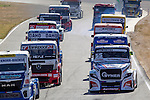 Czech driver Adam Lacko belonging Czech team Buggyra International Racing Systemduring the third race R3 of the XXX Spain GP Camion of the FIA European Truck Racing Championship 2016 in Madrid. October 02, 2016. (ALTERPHOTOS/Rodrigo Jimenez)