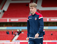 Bolton Wanderers' Harry Brockbank pictured before the match <br /> <br /> Photographer Andrew Kearns/CameraSport<br /> <br /> The EFL Sky Bet Championship - Nottingham Forest v Bolton Wanderers - Sunday 5th May 2019 - The City Ground - Nottingham<br /> <br /> World Copyright © 2019 CameraSport. All rights reserved. 43 Linden Ave. Countesthorpe. Leicester. England. LE8 5PG - Tel: +44 (0) 116 277 4147 - admin@camerasport.com - www.camerasport.com
